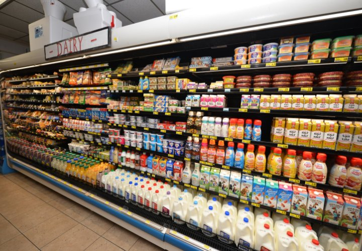 St. George Island Grocery Store Dairy Selection